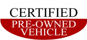 Certified Pre-Owned Vehicle
